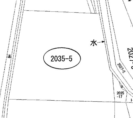 瀬戸町地頭分 公図